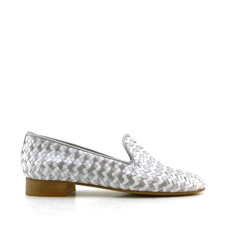 Lussy Anna 471 Argenté - Livraison Gratuite avec  - Chaussures Mocassins Femme